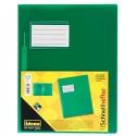 Idena 307853 - Schnellhefter für DIN A4 mit Überbreite aus Polypropylen transluzent grün 1 Stück