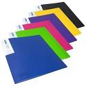 Rapesco 1647 Germ-Savvy Antibakteriell: A4-Präsentationsmappe mit 40 Folien – 6 Mappen Farblich Sortiert