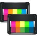 eBoot Neon-Index-Tabs Flaggen Haftnotizen für Seitenmarker 6 Stück