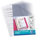 Oxford 100206909 Prospekthüllen perforiert PP glatt A4 farblos