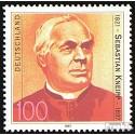 Prophila Collection BRD (BR.Deutschland) 1925 (kompl.Ausgabe) 1997 Sebastian Kneipp (Briefmarken für Sammler) Christentum