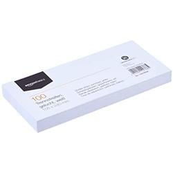 Basics – Trennstreifen aus recyceltem Manilapapier vollfarbig gelocht 10 5 x 24cm 160g/m² 100Stück Weiß