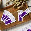 Avery Bedruckbare Tickets 5 4 x 14 cm Laser/Tintenstrahl 200 Tickets ideal für Lose (16431) weiß 8 Tickets pro Blatt