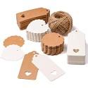 SuMile Geschenk Anhänger Kraftpapier 5 DIN A4 Naturkarton hochwertige Qualität Brown Natural Craft Card Kraftkarton 170 g Qualität