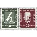 Prophila Collection DDR 626-627 (kompl.Ausg.) 1958 Max Planck (Briefmarken für Sammler)