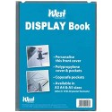 West A3 Display Book containing 10 fixed display sleeves