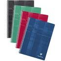Clairefontaine 68161C Spiralbuch (DIN A4 21 x 29 7 cm französische Lineatur 90 Blatt) 1 Stück farbig sortiert