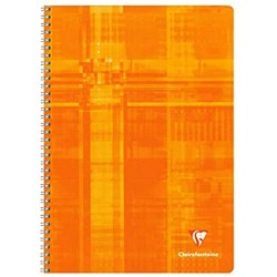 Clairefontaine Cahier spirale A4 100 pages 3329680681420