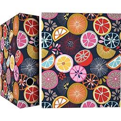 Grafoplás Jocelyn Proust 88171989 Ringbuch mit 4 Ringen 40 mm Orange
