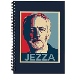 Jezza Jeremy Corbyn Hope Spiral Notebook