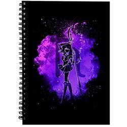 Saturn Soul Sailor Moon Spiral Notebook