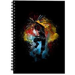 Shoto Silhouette My Hero Academia Spiral Notebook
