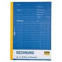 Idena 314257 - Rechnungsbuch DIN A5 selbstdurchschreibend mit Blaupapier