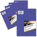 AVERY Zweckform 223-5 Fahrtenbuch (für PKW vom Finanzamt anerkannt A5 auf 80 Seiten für 858 Fahrten für Deutschland und Österreich zur Abgrenzung privater und geschäftlicher Fahrten) 5er Pack